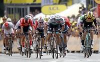 Petrovi Saganovi sa v 3. etape Tour de France aj napriek 5. miestu podarilo udržať zelený dres