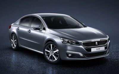 Peugeot 508 2015: Modernizovaná francúzska elegancia