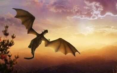 Pevné přátelství chlapce a draka naruší vyděšení a ozbrojení vesničané v traileru k nové disneyovce