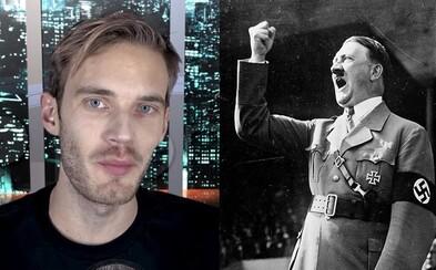 PewDiePie čelí obvinění, že propaguje nacismus. Youtuber se však svým kritikům vysmál