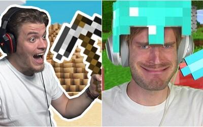 PewDiePie dostal Minecraft opäť na výslnie, aj slovenskí youtuberi hrajú kockatú hru