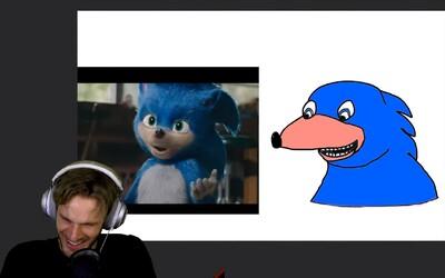 PewDiePie mohol zinkasovať 12 miliónov eur za kresbu svojho ťarbavého Sonica. Aukciu radšej zrušil