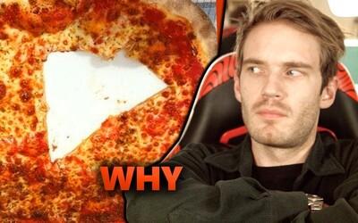 Pewdiepie opäť pobúril internet. Verejnosť nevie pochopiť, akým spôsobom youtuber konzumuje pizzu