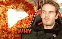 PewDiePie opět pobouřil internet. Veřejnost nedokáže pochopit, jakým způsobem youtuber konzumuje pizzu