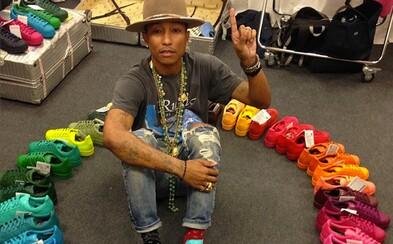 Pharrell a jeho 50 odtieňov adidas Originals Superstar je realitou!
