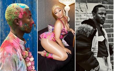 Pharrell, Kendrick Lamar, A$AP Rocky, Nicki Minaj a mnoho ďalších sa objavujú jednom albume