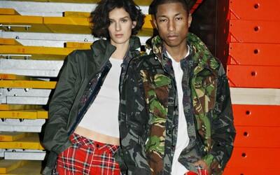 Pharrell Williams a G-Star Raw vytvorili kolekciu nohavíc s 25 rôznymi verziami od pásikavých až po kvetinové