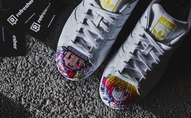 Pharrellova druhá kolekce Superstars je plná uměleckých děl na detailnějších záběrech