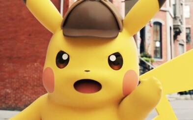 Pikachu sa v hranom celovečernom filme stane detektívom!