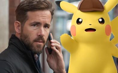 Pikachuho v prvom hranom Pokémon filme Detective Pikachu nadabuje Ryan Reynolds