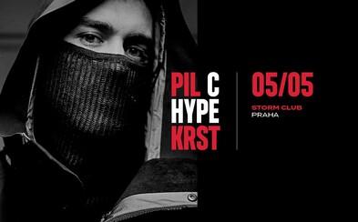Pil C už zítra pokřtí v pražském Stormu své debutové album za doprovodu Vladimira 518, NobodyListena a Calina
