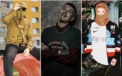 PIL C, Yzomandias či Dalyb. Jakými outfity zazářili v roce 2018 čeští a slovenští rapeři?