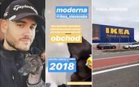Pil C-ho so psom vyhodili zo slovenskej predajne IKEA, v talianskej sa môžu psíky schovať pred mrazom a dostanú najesť