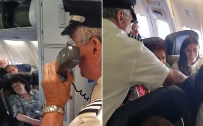 Pilot své milionté cestující proplatil letenku a daroval jí i láhev šampaňského. Za 22 let nalétal pořádnou porci kilometrů