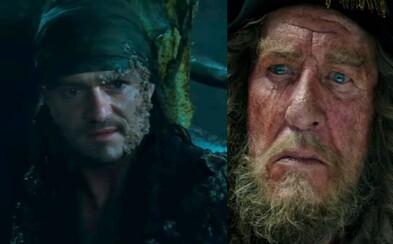Piráti z Karibiku čelí v traileru plném mořských bitev běsnění kapitána Salazara, které může zastavit jedině Jack Sparrow