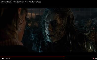 Piráti z Karibiku se temnou upoutávkou vracejí zpátky ke svým kořenům. Bude to velkolepé!