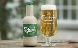 Pivo v láhvi z recyklovaného papíru? V zahraničí bude realitou, přidají se i další prodejci nápojů