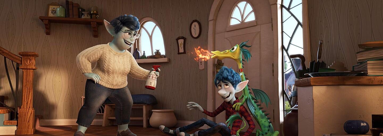 Pixar odhaľuje animák Onward a jeho fantasy svet plný elfov, jednorožcov, morských panien a drakov