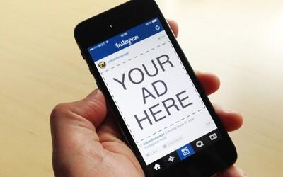 Placené reklamy na Instagramu již brzy přijdou i do České republiky a na Slovensko