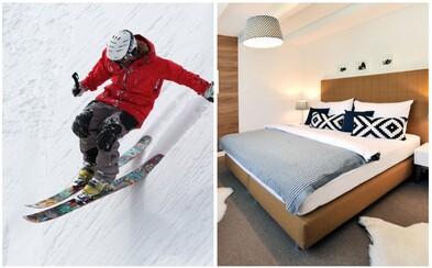 Plánujete lyžovačku na Slovensku a neviete, kde sa ubytovať? Nasledujúcich 5 tipov z Airbnb vyrieši vašu dilemu
