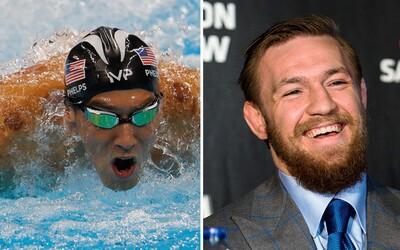 Plavec Michael Phelps vyzval McGregora, aby si s ním zasoutěžil. Utahuje si z jeho vstupu do profesionálního boxu