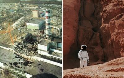 Plíseň z Černobylu bude zřejmě chránit lidi cestující na Mars. Dokáže blokovat radiaci a roste téměř sama