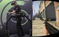 Plnohodnotná virtuálna realita v spojení s hrou GTA V ponúka dokonalý herný zážitok