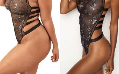 Plnoštíhlá žena přetvořila kampaně Victoria's Secret na spodní prádlo, aby všem ukázala, že i objemnější křivky dokáží zaujmout