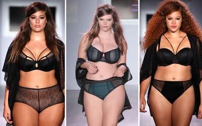 Plnoštíhlé modelky v čele s Ashley Graham ovládly týden módy v New Yorku. Světu ukázaly speciální kolekci spodního prádla