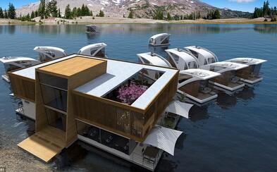 Plovoucí hotel nabídne návštěvníkům volnou plavbu po jezeře a nerušený kontakt s přírodou