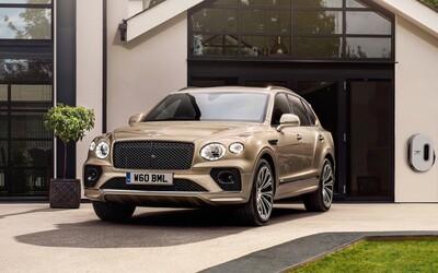 Plug-in hybridní Bentayga s výkonem 449 koní je odpovědí Bentley na přísné emisní normy