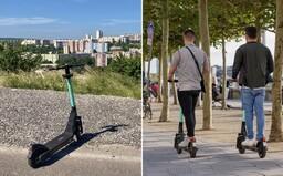 Po bratislavských uliciach už niekoľko dní brázdia nové zdieľané kolobežky. Sú drahšie než tie od Boltu, ale o to prepracovanejšie