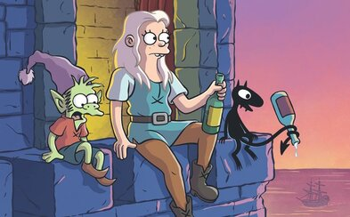 Po Futuramě a Simpsonech jsme se dočkali zklamání. Disenchantment recykluje postavy i vtipy (Recenze)