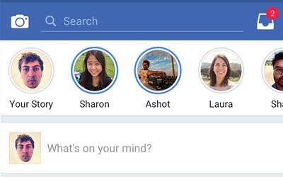 Po Instagram Stories prídu aj Facebook Stories. Aplikácia modrej sociálnej siete dostane novú funkciu