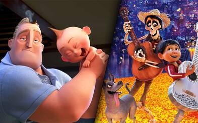 Po kasovom sklamaní s Cars 3 zožal Pixar úspech po celom svete. Ako vznikali rekordné a krásne animáky Coco a Rodinka úžasných 2?