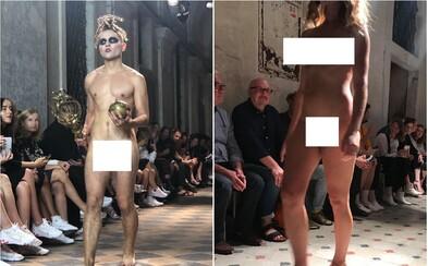 Po móle sa prechádzali nahí. Česká dizajnérka tvrdí, že na planéte je už šatstva dosť
