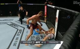 Po neuvěřitelném KO dostal Jiří Procházka od UFC bonus přes 1 000 000 korun