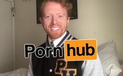 Po orgazme ťa zabalím do paplóna. Vtipálek si založil kanál na Pornhube, kde získava státisíce zhliadnutí vďaka svojským videám