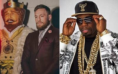 Po první velké výplatě opustíš i vlastní ženu. 50 Cent zaútočil na Conora McGregora za to, že si z něj bojovník utahoval
