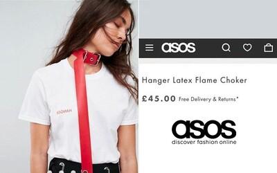 Po rasistickém skandálu H&M má problém ASOS. Prodávají choker, který si podle mnohých dělá legraci ze sebevraždy