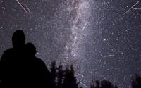 Po roce nám vesmír opět nabídne úchvatnou večerní podívanou v podobě četných Perseid