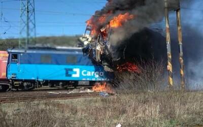 Po srážce vlaků na Teplicku zemřel jeden člověk