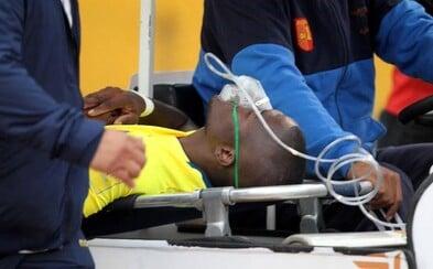 Po zápase ho chtěla zatknout policie, a tak předstíral zranění a nechal se odvézt ze stadionu sanitkou. A plán mu vyšel