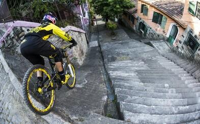 Po zhliadnutí GoPro záberov víťaznej mestskej downhill jazdy Filipa Polca vám zaručene stúpne adrenalín
