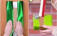 Po zhliadnutí tohto videa si povieš, že balenie vianočných darčekov nikdy nebolo jednoduchšie a zábavnejšie