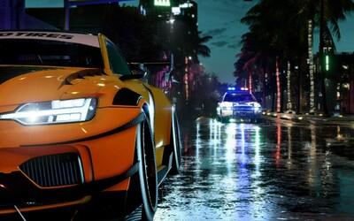 Počas ilegálnych pretekov ťa budú naháňať policajti, no ty sa nebojíš. Need for Speed Heat zverejnil trailer