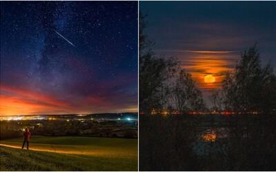 Počas novembra nás čaká úchvatné nebeské divadlo. Okrem meteorického roju zažiari aj Bobrí mesiac