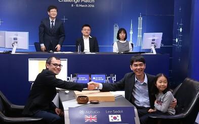 Počítač vs. človek 4:1. Umelá inteligencia zdolala svetového šampióna v hre Go s poriadnym náskokom