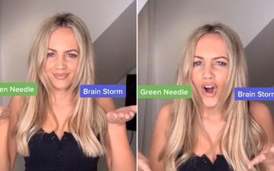 Počuješ green needle alebo brainstorm? Stará nahrávka rozdelila ľudí, každý počuje to, na čo myslí