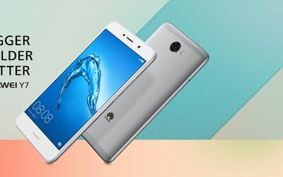 Podarený low-end smartfón Huawei Y7 ponúka slušnú výbavu aj napriek nízkej cenovej kategórii